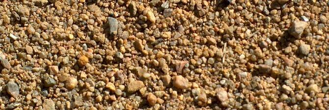 Крупный песок в Калининграде